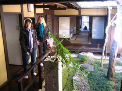 At the Zen garden