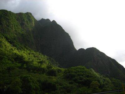 The west Maui mountains