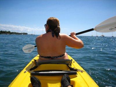 Jacq kayaking