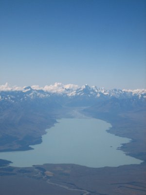 Mount Cook - the highest mountain in New Zealand