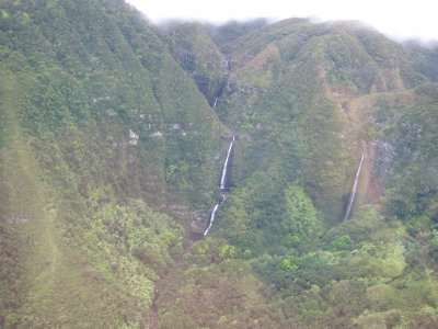 Waterfalls on Molokai