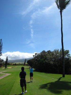 Golfing at Ka'anapali