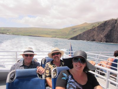 On the Lanai Ferry