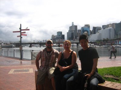 Hanging out at Darling Harbour