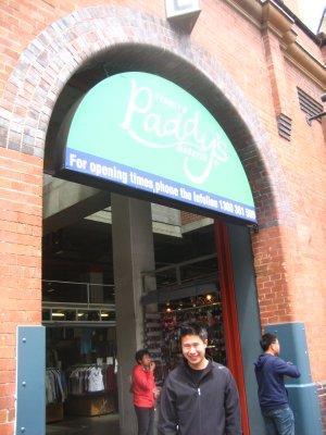 Shopping at Paddy's Market