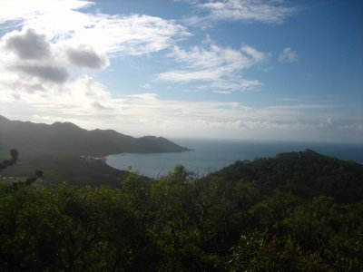 View from the top of the Forts - Horseshoe Bay