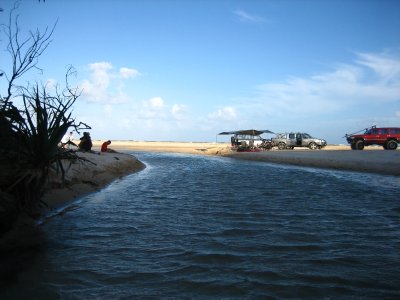 Eli creek meeting 75 mile beach