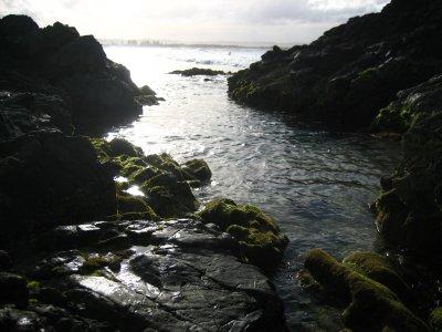 Rocks at Byron Bay Beach
