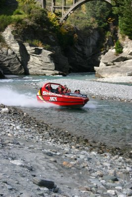 the shotover jet!