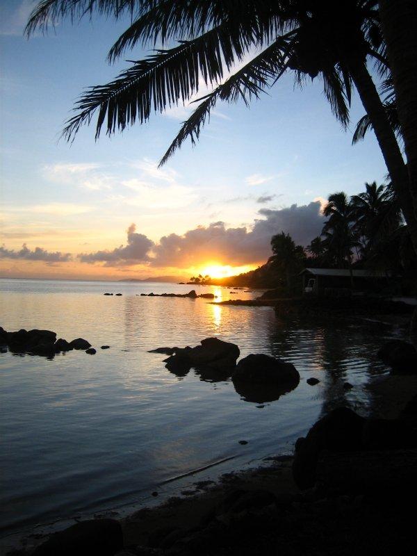 Sunrise on Christmas morning