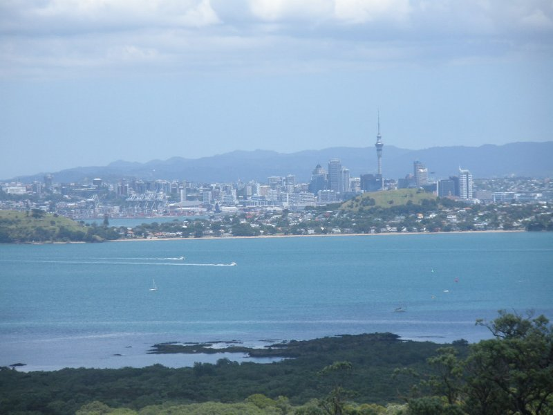 View of Auckland from Rangitoto
