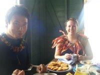 Lunch at Waitabu