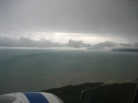 Flying into Cairns