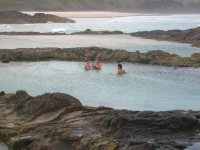 Swimming the Champagne Pools