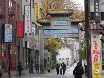 Montreal Chinatown