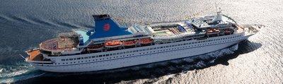 Aqaumarine Ship with Louis Cruises