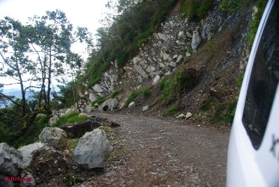 The Road to Mt. Sto Tomas