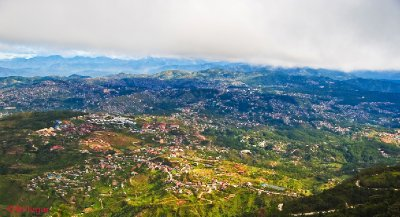 Baguio City from Mt. Cabuyao Summit
