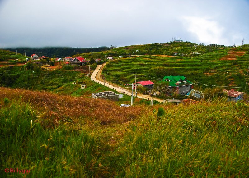 The Village at the summit of Mt. Cabuyao