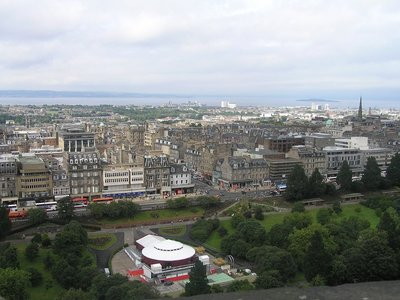 Edinburgh Scotland from Castle3