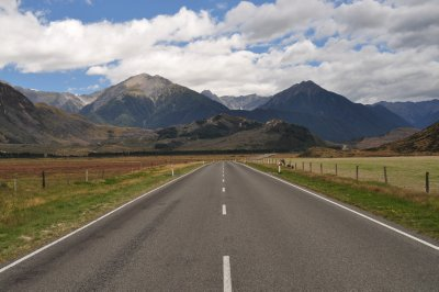Beyond Arthur's Pass towards Christchurch