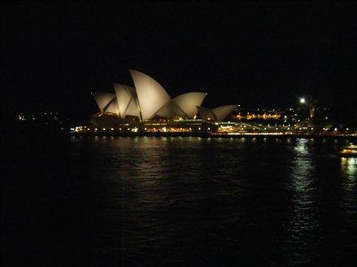 Sydney Opera House by night...