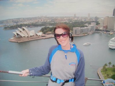 Me at the top of the harbour bridge