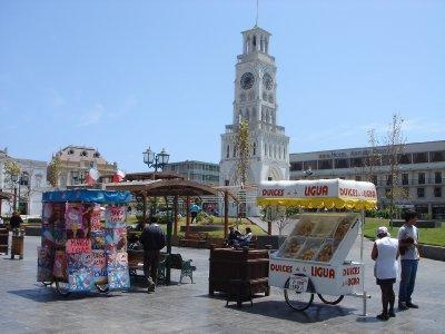 Stalls at plaza
