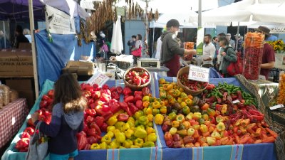 Sunday Market at Embarcadero
