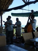 Musicians at Cayo Jutias