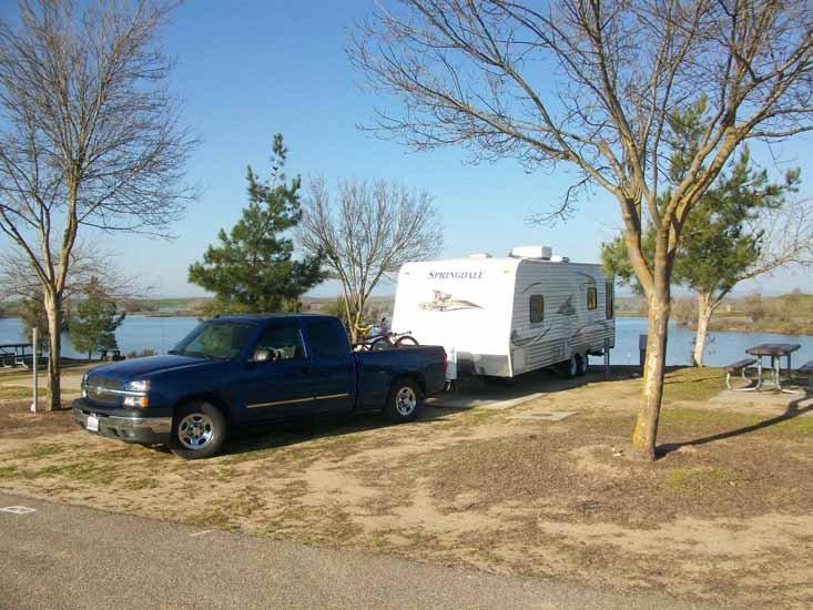 A very beautiful campsite