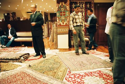 Carpet shopping in Istanbul