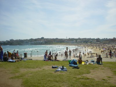 Bondi Beach on Boxing Day