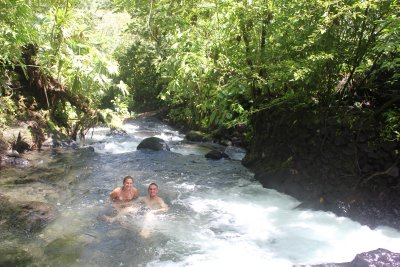 Me & Jay in the hot river