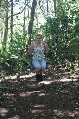 Me on a swing