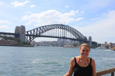 Me & the harbour Bridge