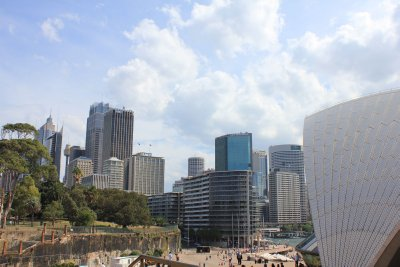 View of Sydney from Circular Quay