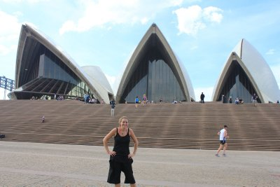 Me in front of the Opera House