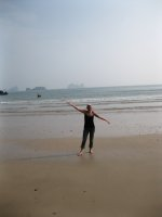 Me on the beach!