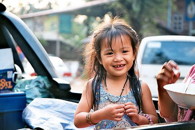 Lovely girl in Siem Reap
