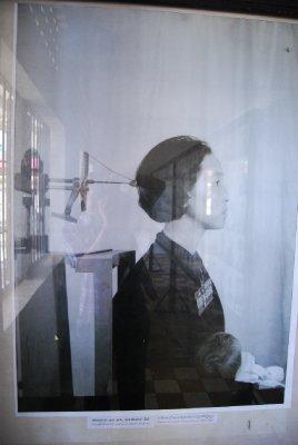 Maskin de brukte for å ta bilde av fangene.....