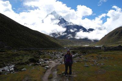 En nydelig dag i den nepalesiske fjellheimen :-D