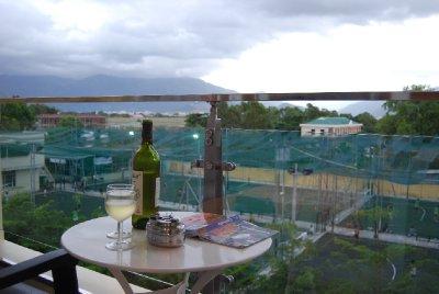 Vinkos på terrassen :-)