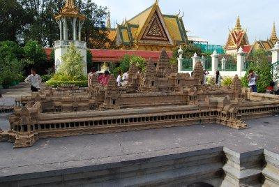 Miniatur av Angkor Wat!