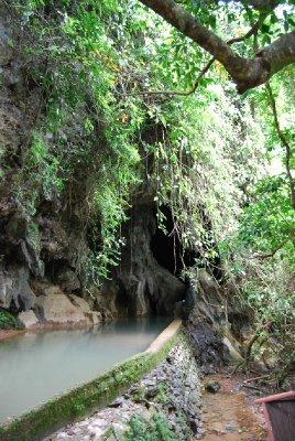 Oversvømt hule......