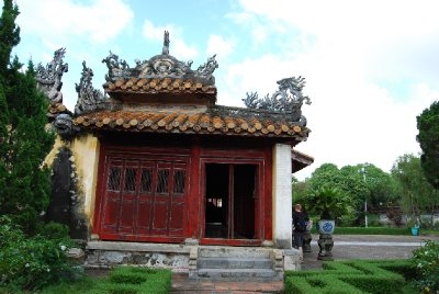 et lite tempel fra 1800 tallet