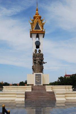 Vennskapsmonumentet; Kambodsja - Vietnam