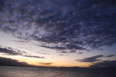 Solnedgang!
