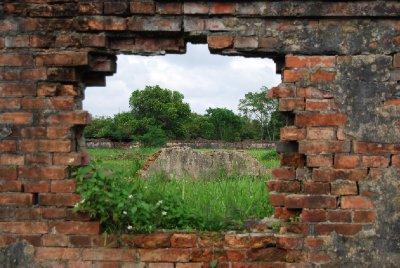 En titt gjennom muren :-)