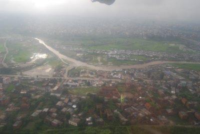 Kathmandu i fugleperspektiv
